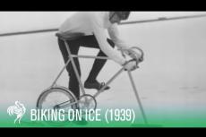 Embedded thumbnail for La bici che va sul ghiaccio