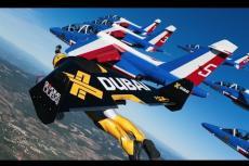 Embedded thumbnail for Volando con l'uomo-jet