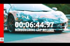 Embedded thumbnail for Lamborghini Aventador, ed è già record
