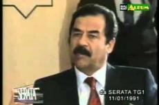 Embedded thumbnail for Speciale guerra del Golfo: Vespa intervista Saddam